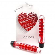 SANINEX VIBRATOR FANTASTIC REALITY RED