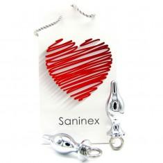 SANINEX PLUG METAL EXTREME WITH RING