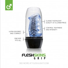 FLESHSKINS BLUE ICE WITH CASE - 1