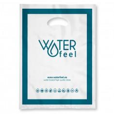 WATERFEEL LARGE SIZE PLASTIC BAG 40 x 50 CM 100 UNITS