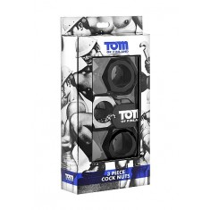 TOM OF FINLAND 3 PIECE COCK RING
