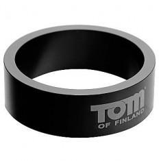 TOM OF FINLAND ALUMINIUM COCK RING 60MM - 1