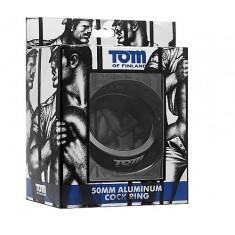 TOM OF FINLAND ALUMINIUM COCK RING 60MM