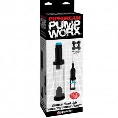 PUMP WORX DELUXE HEAD JOB VIBRATING POWER PUMP - 4
