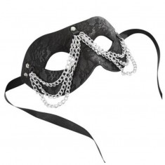 SPORTSHEETS CHAINED LACE MASK SINCERELY - 1
