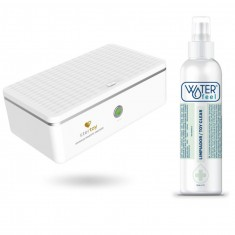STERTOY STERILIZER GERMICIDAL BACTERICIDE ULTRAVIOLET + TOY CLEANER WATERFEEL FREE - 1