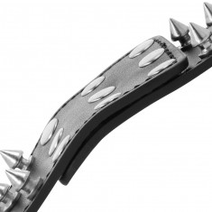 DARKNESS  KULLS AND BONES HANDCUFFS WITH SPIKES - 1