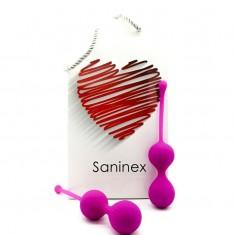 SANINEX DOUBLE CLEVER BALLS PURPLE - 1