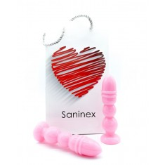 SANINEX DELIGHT PLUG-DILDO PINK - 1