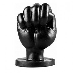 ALL BLACK FIST 13CM  ANAL - 1