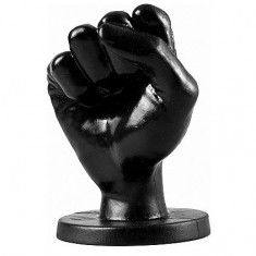 ALL BLACK FIST ANAL 14CM - 1