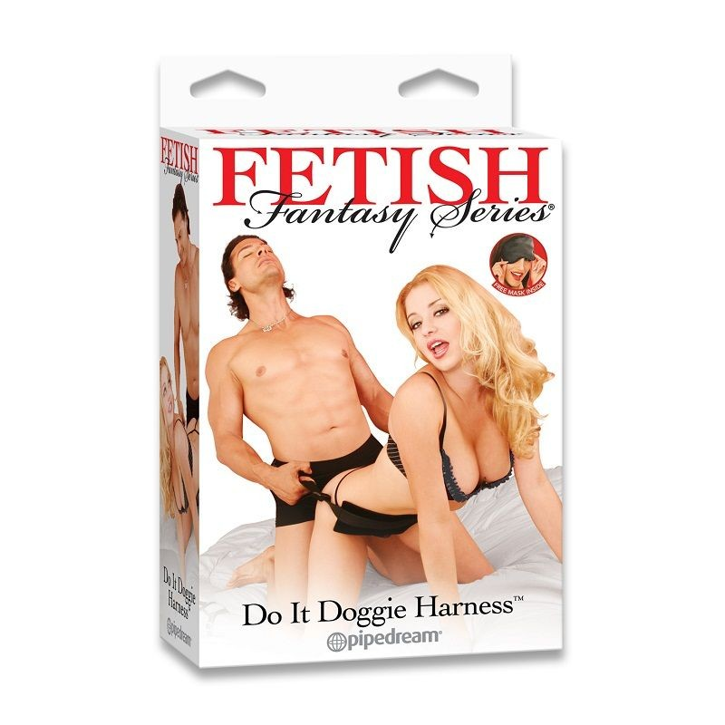 FETISH FANTASY DO IT DOGGIE HARNESS - 1