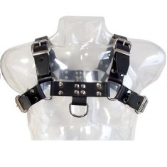 LEATHER BODY CHAIN HARNESS III - 1