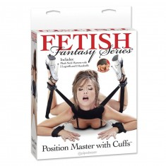 FETISH FANTASY POSITION MASTER WITH CUFFS - 1