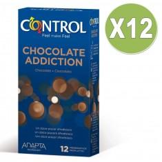 CONTROL ADAPTA CHOCOLATE ADDICTION PACK 12 X 12 UNITS - 1