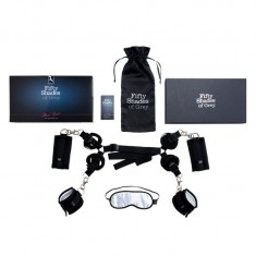 FIFTY SHADES OF GREY BED RESTRAINTS KIT - 2