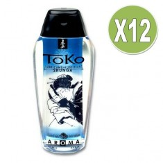 SHUNGA TOKO AROMA LUBRICANT EXOTIC FRUITS, PACK 12 UDS - 1