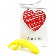 SANINEX DILDO BANANA ORGASMIC FANTASY YELLOW - 1