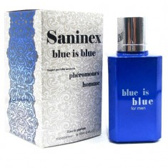 SANINEX SCENT WITH PHEROMONES FOR MEN BLUE IS BLUE - 1