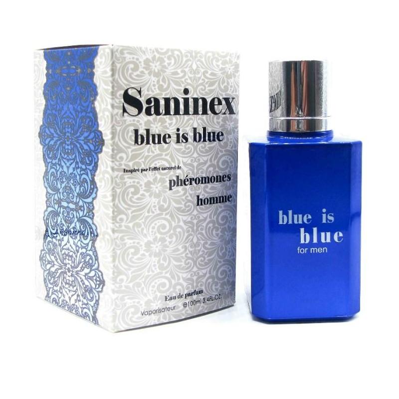 SANINEX SCENT WITH PHEROMONES FOR MEN BLUE IS BLUE - 1