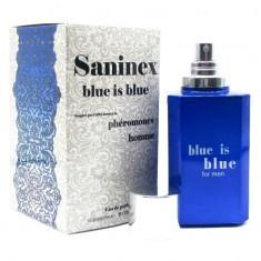 PERFUME WITH PHEROMONES MAN SANINEX BLUE IS BLUE