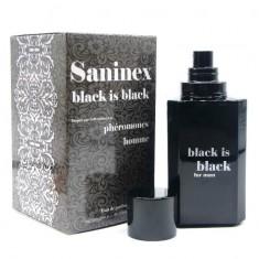 SANINEX BLACK IS BLACK SCENT FOR MEN WITH PHEROMONES - 2