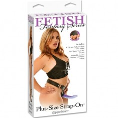 FETISH FANTASY SERIES PLUS SIZE STRAP-ON - 1
