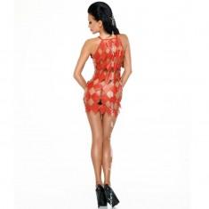 ME-SEDUCE GWEN DRESS RED XXL/XXXL