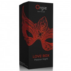 ORGIE LOVE BOX PASSION NIGHT KISSABLE GEL WARMING EFFECT FOR CLIT - 1