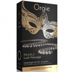 ORGIE PEARL LUST MASSAGE KIT FOR COUPLES - 1
