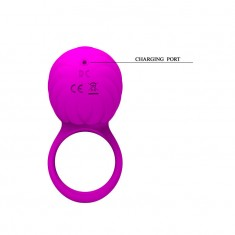 SILICONE ROTATING AND TEASER COCK RING FRANCES PRETTY LOVE - 6