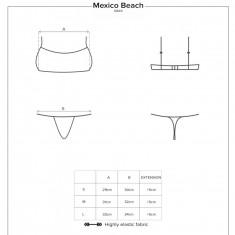 OBSESSIVE - MEXICO BEACH SWIMWEAR - GREEN S