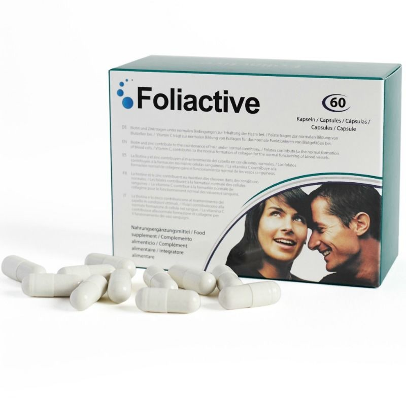 FOLIACTIVE PILLS NUTRITIONAL SUPPLEMENT FOR HAIR LOST - 1