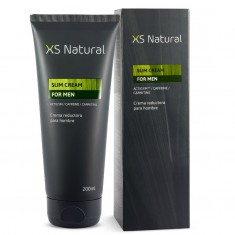XS NATURAL CREAM FOR MEN. SLIMMING CREAM AND FAT BURNER TO REDUCE ABDOMEN FAT - 1