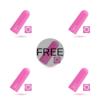 AMORESSA NIX REMOTE CONTROL BULLET PINK 4+1 FREE - 1