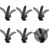 BASECOCK REALISTIC BENDABLE REMOTE CONTROL BLACK 21 CM 5+1 FREE - 1