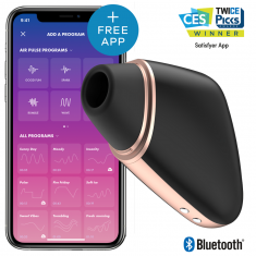 SATISFYER CONNECT - LOVE TRIANGLE BLACK - 1