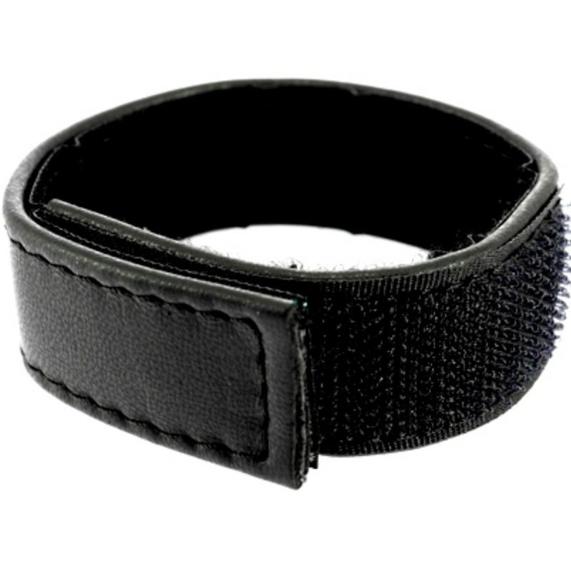 METAL HARD - COCK AND BALL STRAP VELCROED ADJUSTABLE - BLACK - 1