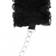 COQUETTE LACE BONDAGE SET DELUXE BLACK - 5