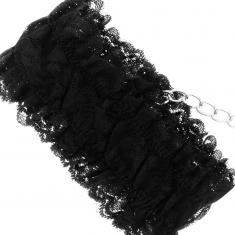COQUETTE LACE BONDAGE SET DELUXE BLACK - 9