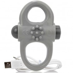 SCREAMING O RECHARGEABLE AND VIBRATING RING YOGA GREY - 1
