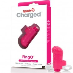 SCREAMING O RECHARGEABLE FINGER VIBE FING O PINK