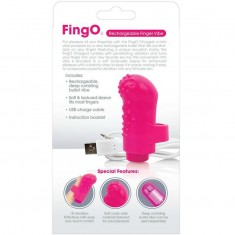 SCREAMING O RECHARGEABLE FINGER VIBE FING O PINK - 4