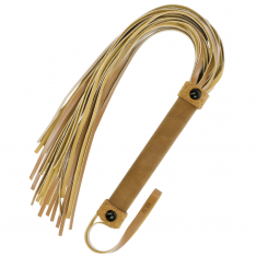 FETISH SUBMISSIVE ORIGIN  FLOGGER VEGAN LEATHER - 1