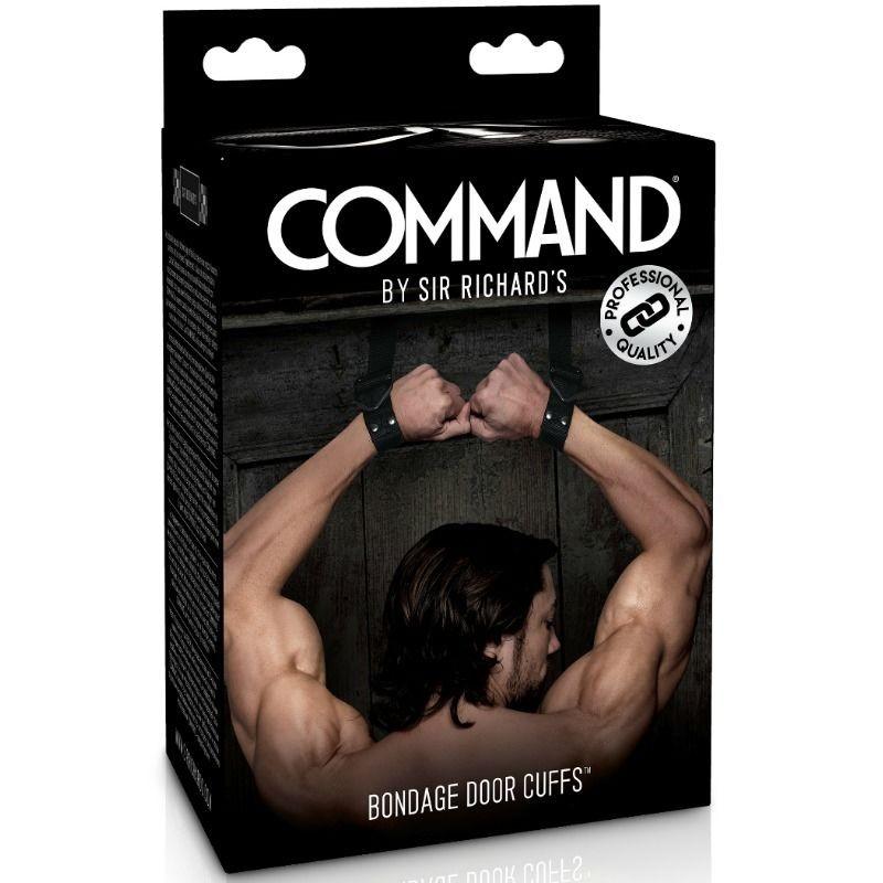 SIR RICHARDS - COMMAND - BONDAGE DOOR CUFFS - 1