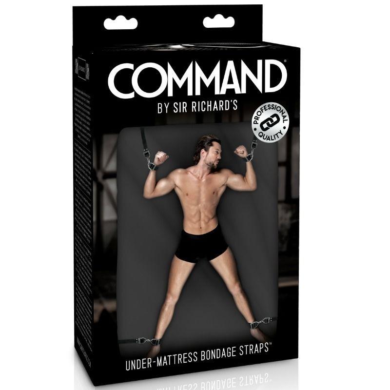 SIR RICHARDS - COMMAND - UNDER MATTRESS BONDAGE STRAPS - 1