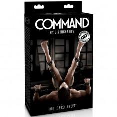 SIR RICHARDS - COMMAND - HOGTIE AND COLLAR SET - 1