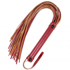 FETISH SUBMISSIVE DARK ROOM  FLOGGER VEGAN LEATHER