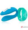 WEARWATCH DUAL PLEASURE  WIRELESS TECHNOLOGY WATCHME BLUE / GREEN