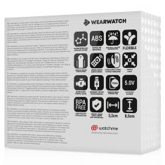 WEARWATCH DUAL PLEASURE  WIRELESS TECHNOLOGY WATCHME LIGHT AQUAMARINE / CORAL